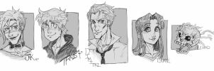 Traditional Busts by m-t-copyright