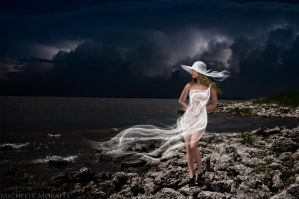 Stormy night. by MichelleMorales