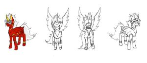 ALICOR THE ROBOTIC ALICORN SPIRIT OF LOVE PONY FOR by DEVIOUS-DISCORD-RP
