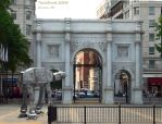 An American AT-AT in London by techburst