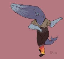 Whale Ballet Teacher by pietro-ant