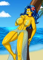 Marge Bikini by hentaisp