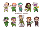 So Many Riddlers by Meinarch