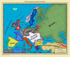Europe 1917 by AHImperator