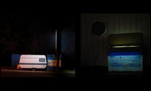 The trailor and the old jubox by Fotofakk