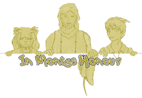 Free OC Requests- In Monty's Honour by Bushtuckapenguin