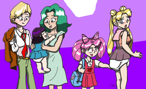 Little Ladies Colored by JayManney4Life