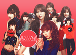 Hyuna [4 minute] PNG PACK by Yourlonglostsister
