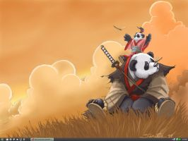 panda desktop 2008 by NerghaL
