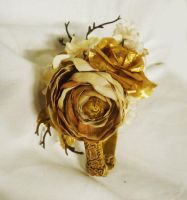 Golden Woods Hair Accessory by sweetmildred