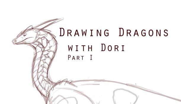 How to Draw Dragons Part - 1 and 2 by KyriaDori