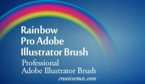 Rainbow Pro Illustrator Brush by Grasycho
