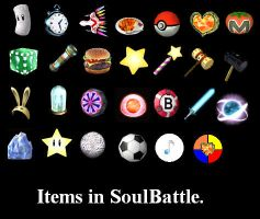 Items in TheSoulBattle by Demondreans667