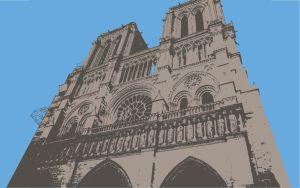 Notre Dame it Looks Good by Stienf9