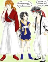 Gintama does Kenshin by angelkitty