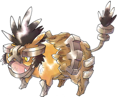 Landroar fakemon by jof410