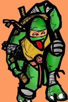 Michelangelo by superultimateomega