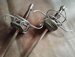 Knot Rapier and Dagger set - 6 by Danelli-Armouries