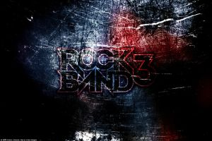 Rock Band 3 Wallpaper by RedAndWhiteDesigns