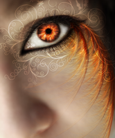 Fiery Eye by seandreea