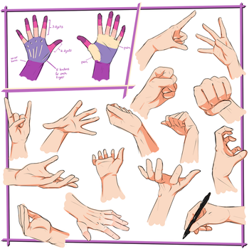 Hand Tutorial by LivingAliveCreator