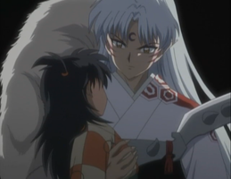 Sesshomaru Rin Fullshot2 by DreamBig715