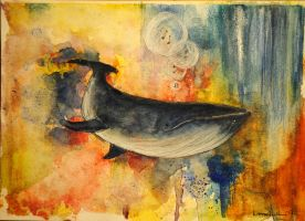 The wailing whale by axellie