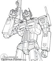Optimus Prime +Inking Reject+ by PsychedelicMind
