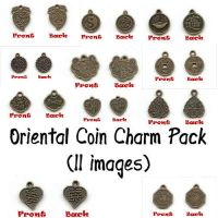 Oriental Coin Charm Pack by Sage-Dreamer