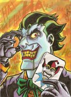 The Joker marker by aisu-kaminari