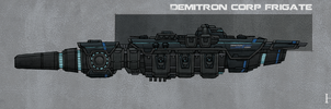 Demitron Corp Frigate by Athalai-Haust