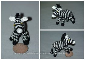 The Crocheted: Zebra by janey-in-a-bottle