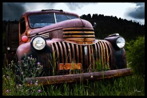 Rainbow Colored Rust by whatimagination