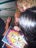 STEVEN ADLER SIGNING THE PRINT by crystalaki
