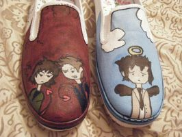 SPN Shoes - WIP by xnotsoserious