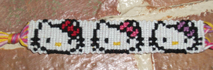 Hello Kitty Bracelet by R-R-RADICAL