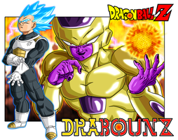 vegeta vs freezer by DrabounZ