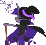 .:REQUEST:. Maggie as a witch princess by AutumnHeart803