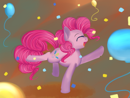 Party Pony by chibimlp-lover