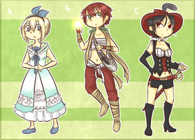 Peter Pan Inspired Adoptables :: CLOSED by dasfrequency