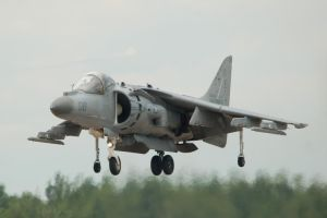 Harrier taking off by concaholic