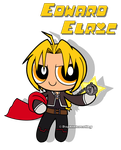 Crossover - Powerpuff Edward Elric by DaphInteresting