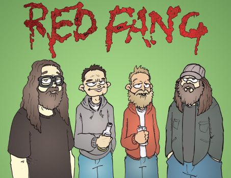 Red Fang by MatthewLaipple