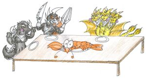 LobsterDinner. by ChaosGhidorah