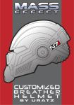 Mass Effect Customized Breather Helmet Project by Uratz-Studios