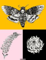 Tattoo Illustrations by ClaraBacou