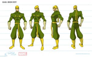 Iron Fist Turnaround by artofjared