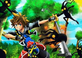 Sora: Destiny Island by x-Usagi-Bomb-x
