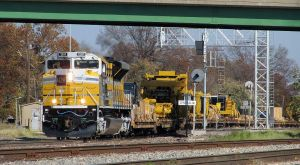 Special Caterpillar SD70ACe 1201 in Centralia ILL by EternalFlame1891