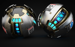 Armoured Ball XLVIII by Dracu-Teufel666